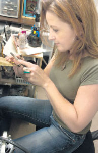 Michele Grady at Work