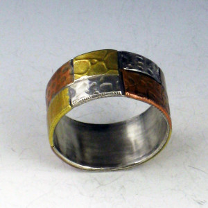 patchwork ring band 1