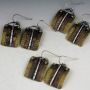 small mixed metal earrings 2