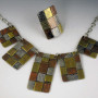 5 panel patchwork necklace 2