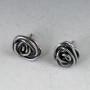tiny rose earring studs 2