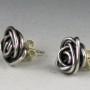 tiny rose earring studs 3