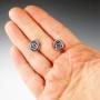 tiny rose earring studs 4