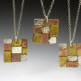 square patchwork necklace 1