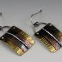 small mixed metal earrings 3
