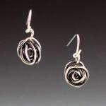 tiny rose earrings 5
