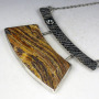 Petrified Wood Arch Necklace 1