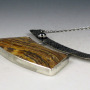 Petrified Wood Arch Necklace 2