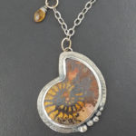 Ammonite and Citrine Necklace
