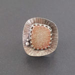 candy druzy ring